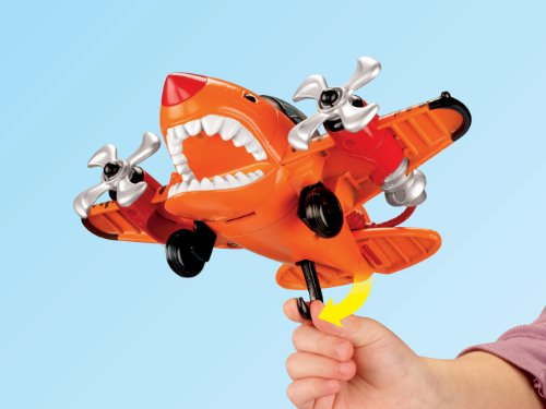 Fisher-Price Imaginext Sky Racers Flying Tiger - coolthings.us