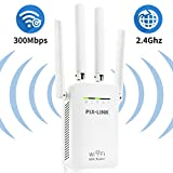 WiFi Range Extender Signal Adapter with 4 External Antenna Repeater for 2.4GHz