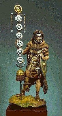 アンドレアミニチュア S8-F39 ローマ帝国軍 旗手( 1世紀 )