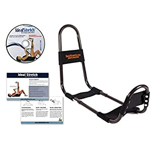 IdealStretch Original Hamstring Stretching Device with Instruction Card Ideal Leg Stretcher, No Need for A Stretching Partner, Maintains Proper Hip Orientation Patented Leg Stretching