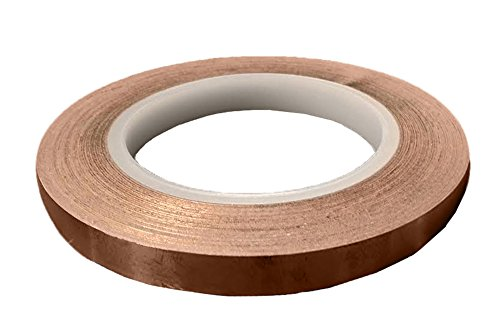 Conductive Duct (Copper Conductive Adhesive Tape, 1/2