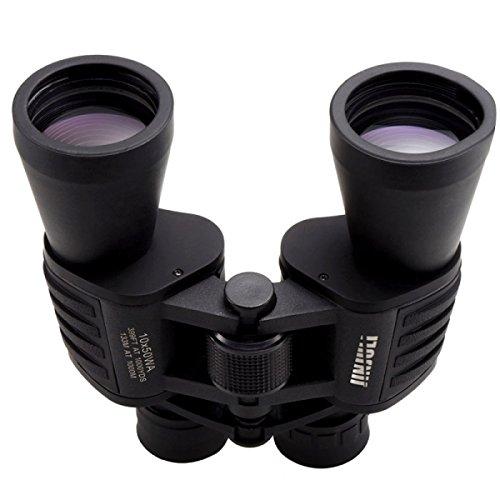 Generic JInjuLi 10 x 50waプリズム屋根防水望遠鏡双眼鏡、133 M / 1000 M (ブラック) B06ZZSW9NJ