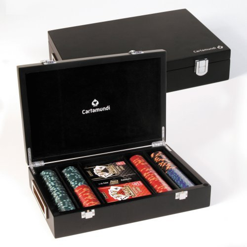 Cartamundi Luxury Casino Poker Set With 200 Chips by Cartamundi by Cartamundi