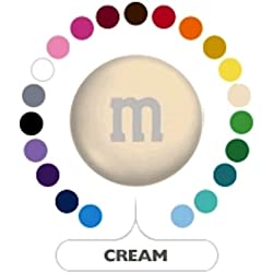 M&M's Creme Milk Chocolate Candy 5LB Bag (Bulk)