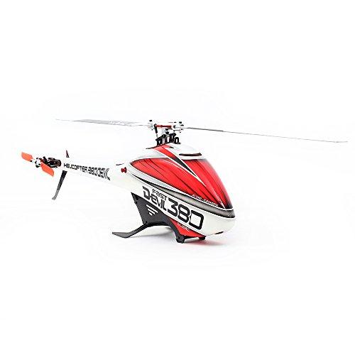 GoolR ALZRC Devil 380 FASTフライバーレスベルトドライブ6CH 3Dヘリコプタースーパーコンボセット モーターESCサーボジャイロ付き