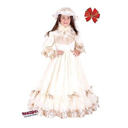 Abito Vestito Bambina Principessa Travestimento Costume Carnevale C514q