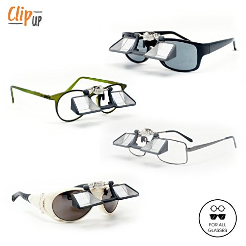 Y&Y Clip UP belay glasses for rock climbing for spectacle wearers