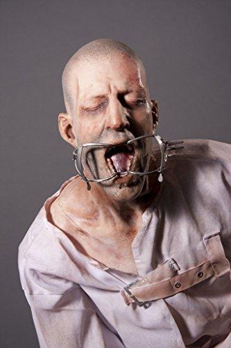 High End Halloween Decorations (Halloween Prop Insane Lunatic Haunted House Life-Size Figure)