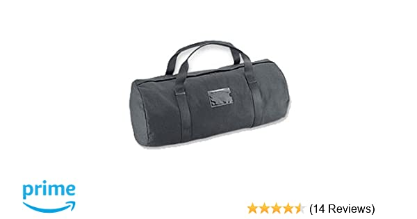 cfc5489ec9e1 Amazon.com  Uncle Mike s Law Enforcement 26-Inch x 12-Inch Compact Plain  Duffel Bag with Clear Plastic I.D. Holder  Sports   Outdoors