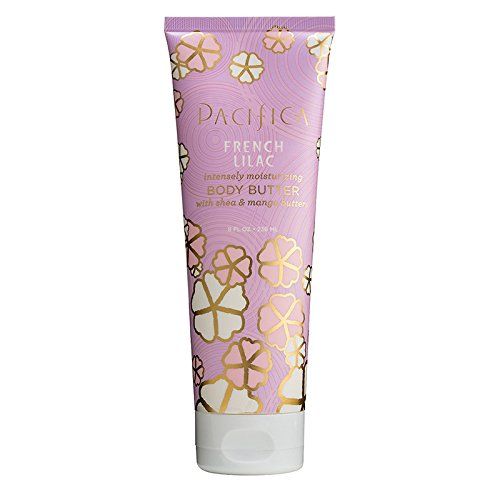 Pacifica Body Butter, French Lilac, 8 Ounce ()