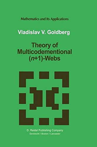 Theory of Multicodimensional (n+1)-Webs (Mathematics and Its Applications)