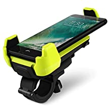 Bike Mount, iOttie Active Edge Bike & Bar, Motorcycle Mount for iPhone 7/ 6 (4.7)/ 5s/ 5c/4s, Galaxy S6/S6 Edge/S5/S4- Retail Packaging - Electric Lime