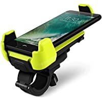 Bike Mount, iOttie Active Edge Bike & Bar, Motorcycle Mount for iPhone 7/ 6 (4.7)/ 5s/ 5c/4s, Galaxy S8/S7 Edge/S6/S5- Retail Packaging - Electric Lime