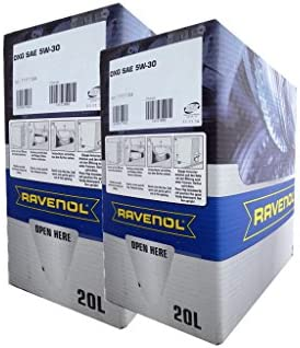 40 2x20 Liter Ravenol Dxg Sae 5w 30 Bag In Box Motoröl Made In Germany Auto