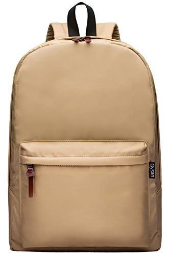 Travel Outdoor Computer Backpack Laptop bag small(khaki) - 5