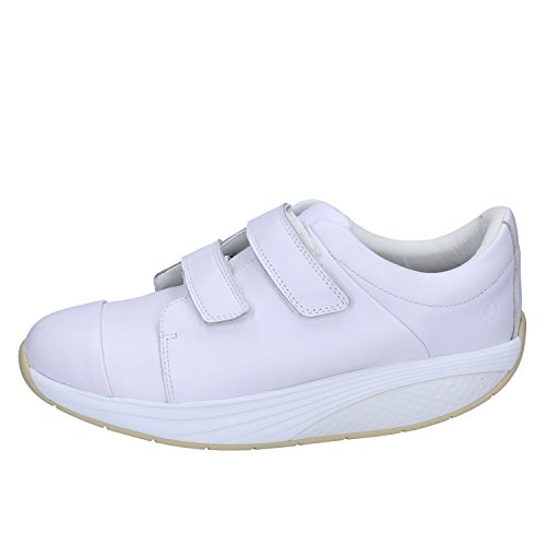Blanc Homme Sneakers Mbt Mbt Sneakers Cuir SxgqPZ