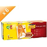 Friskies Chat Repas pour chat adulte Viande & Légumes en terrine 4 x 400 g