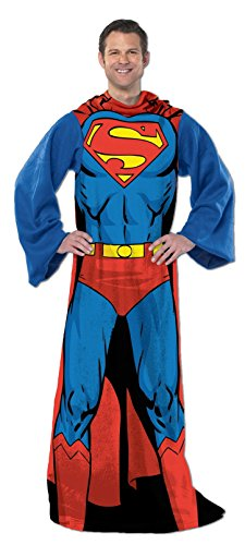 Adult DC Comics Superman Snuggie Comfy Backwards Robe