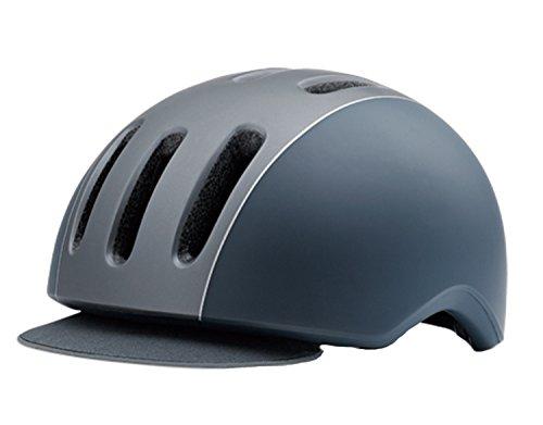 GIRO(ジロ) サイクルヘルメット REVERB MATTE DARK 青/TITANIUM M 7067242