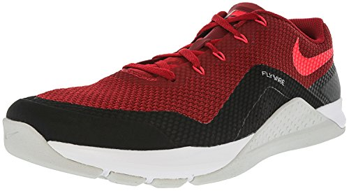 Nike Mens Metcon Repper Dsx Scarpe Da Allenamento Puro Platino / Bianco / Volt / Nero Rosso Duro / Bianco / Rosso Sirena