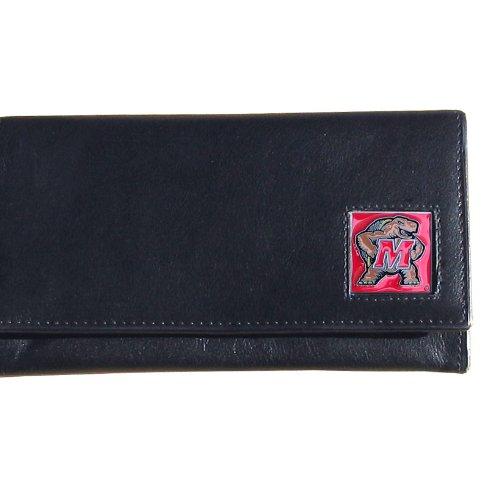 - NCAA Maryland Terrapins Women's Leather Wallet