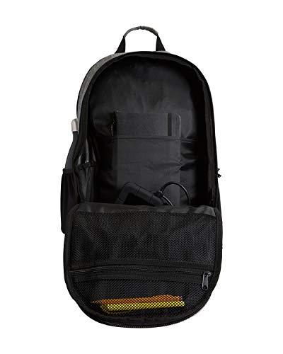 41Cv1dwSwXL - Billabong Men's Classic School Command Backpack, Stealth Black, One Size