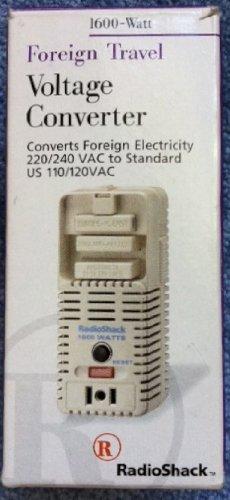 Amazon.com: Radio Shack Voltage Converter 1600 Watt: Home Audio ...