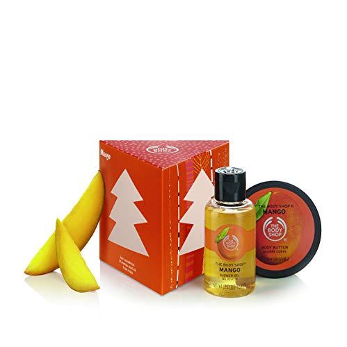 The Body Shop Mango Treats Cube Gift Set (Body Shop Christmas The)