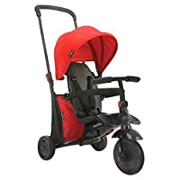 SMARTRIKE Serie 400 - Trike Plegable 6 en 1, Color Rojo