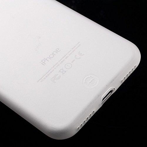 FSHANG Frosted Soft TPU Tasche Hüllen Schutzhülle - Case für iPhone 7 Anti-fingerprint
