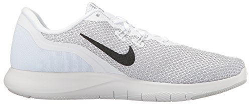 Flex 7 Femme Silver Trainer White Multicolore W Chaussures de Platinum Fitness Nike Pure Metallic 100 51qxTwZtg