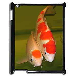 CHSY CASE DIY Design Beautiful Carp Pattern Phone Case For IPad 2,3,4