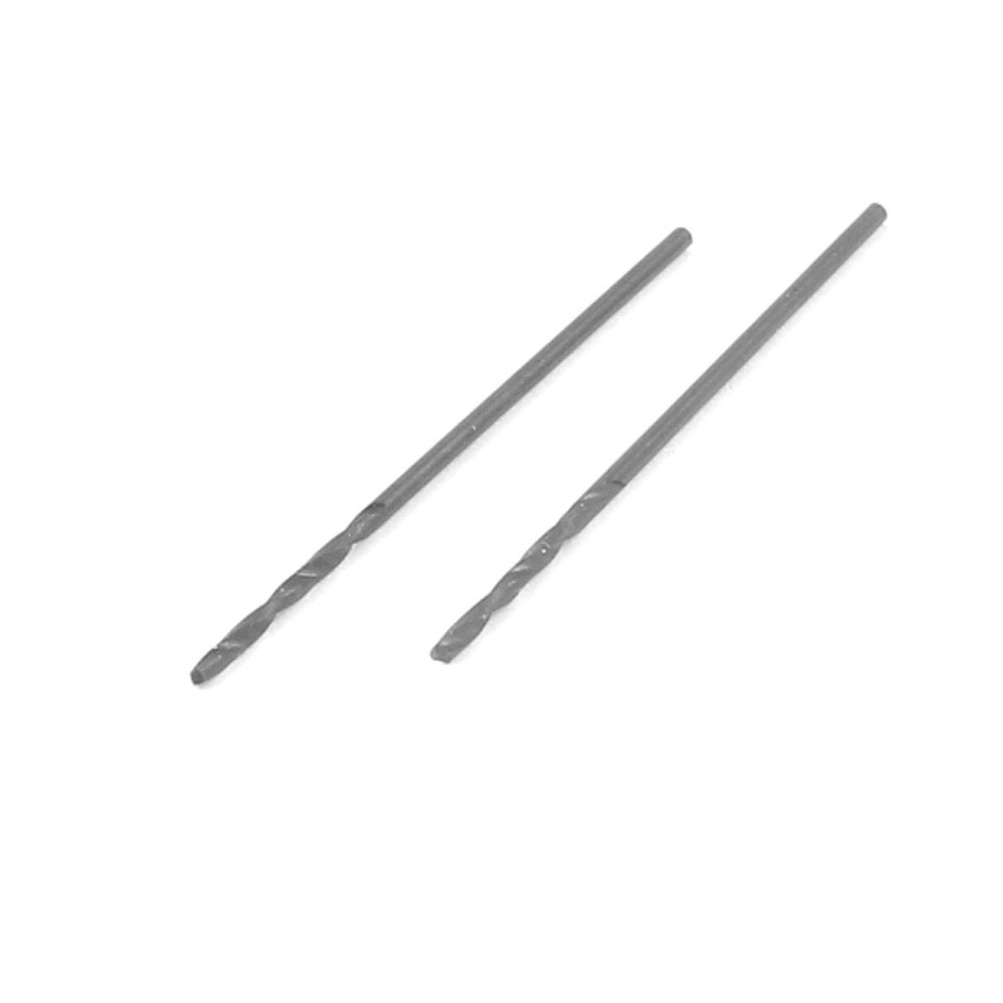 1  mm Dia Split Point 33  mm Lä nge High Speed Steel Twist-Bohrer Bit 2  Pcs Sourcingmap a13101100ux0769