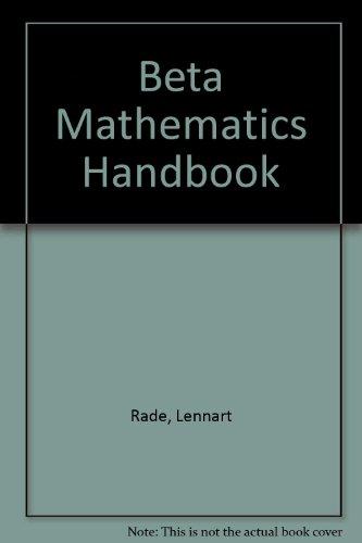 Beta, Mathematics Handbook