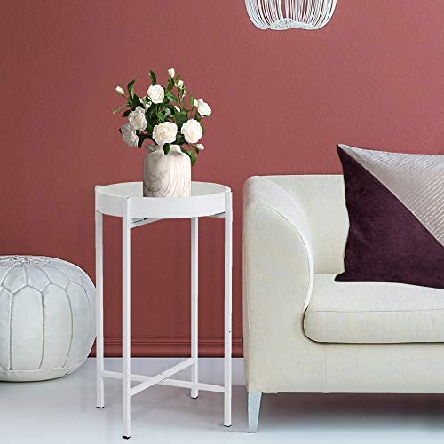 HAWOO Small Round Side Table