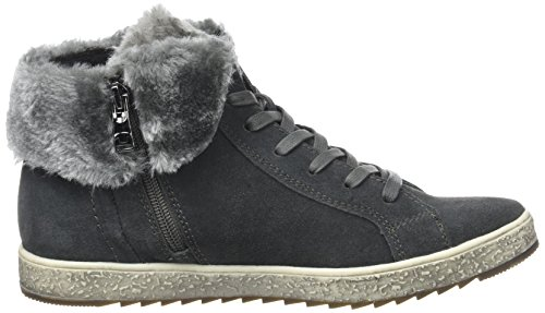 TOM TAILOR Damen 3790501 Hohe Sneaker Grau (Tar)