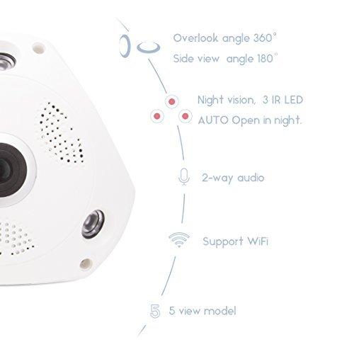 fredi hidden camera wireless  wired 360