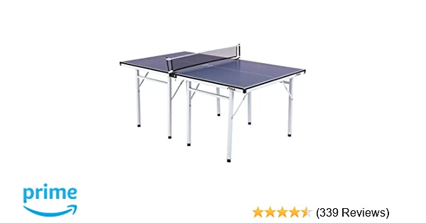 8ac898a4818 Amazon.com   STIGA Space Saver Compact Table Tennis Table for Authentic  Play at Regulation Height with a Scaled Down Size for Easy Storage   Sports    ...