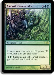 Magic: the Gathering - Ambush Commander - Unique & Misc. Promos - Foil