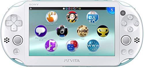 Sony Playstation Vita Wi-Fi 2000 Series Slim (White/Matte Blue) (Renewed)