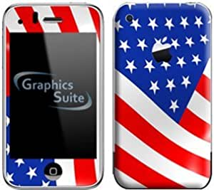 American Flag Skin for Apple iPhone 3G or 3G S