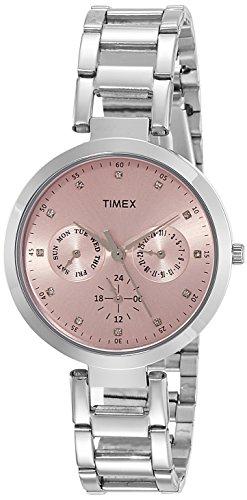 TIMEX E Class Analog Pink Dial Women #39;s Watch   TW000X206