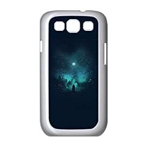 Snow and Stars Samsung Galaxy S3 9300 Cell Phone Case White Cozds