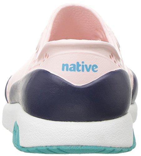 native Kids Unisex-Kids Lennox Block Child Sneaker, Cold Pink/Shell White/Glacier Green/Regatta Blue Block, 13 Medium US Little Kid by native (Image #2)