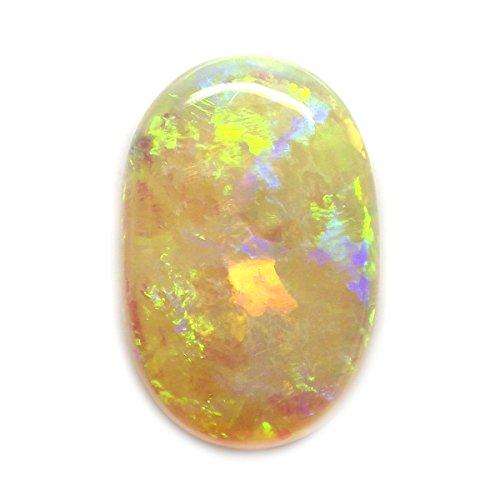 6.08 Ct. HOT Rainbow Natural Oval Cabochon Multi-color Opal Australian Loose Gemstone