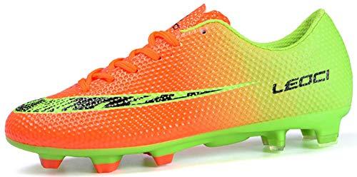 D'entraînement Unisexes Chaussures En t Football De Pour Adolescents Orange Plein Mengxx 2 Air E2IeHb9WDY