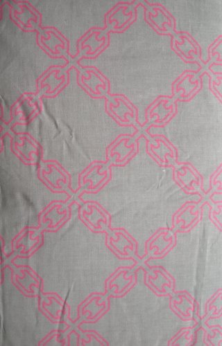 isaac-mizrahi-gray-and-pink-ironing-board-cover-and-pad