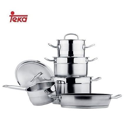 Teka 49004840 Kit de cacerolas - Kits de cacerolas (Acero ...
