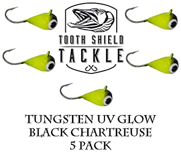Resolute Tackle 6-Pack Tungsten Jig Variety Pack 3, 4mm