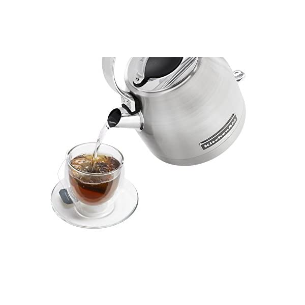 KitchenAid KEK1222SX 1.25-Liter Electric Kettle - Brushed Stainless Steel,Small 3